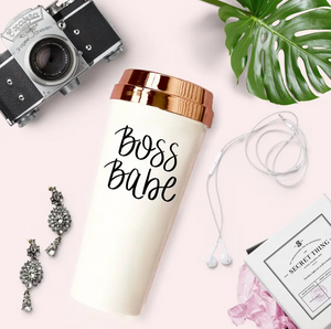 Boss Babe Travel Mug