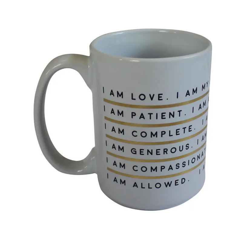 I Am Affirmation - Porcelain Mug