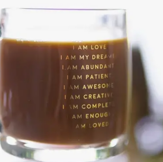 I Am Affirmation - Glass Mug