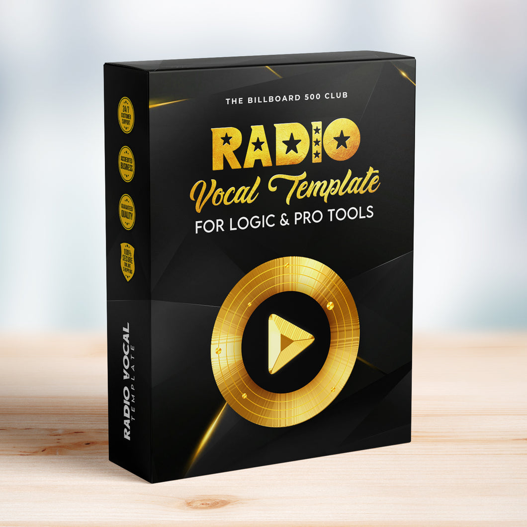 Radio Vocal Template For Logic & Pro Tools
