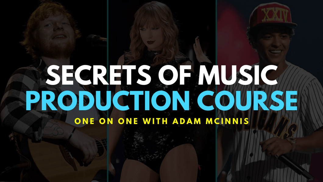 Secrets of Music Production Course - One on one w/ Adam