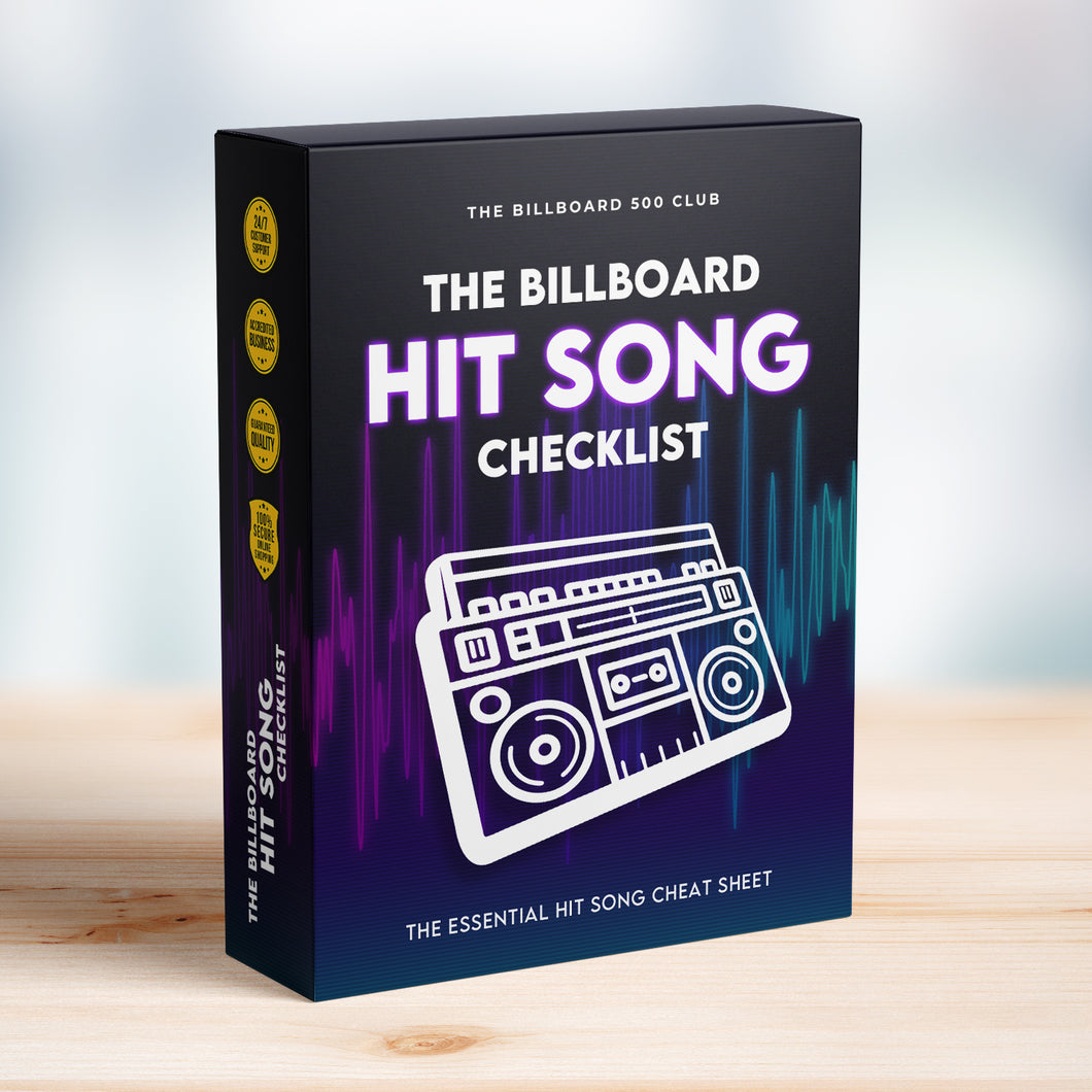 The Billboard Hit Song Checklist