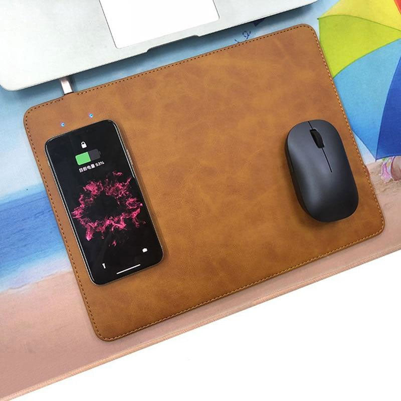 Integrated Qi Wireless Charging Mousepad