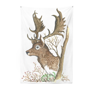 Ball and Chain Co. Sin Eater Stag Tapestry
