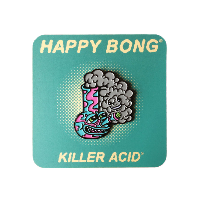 Killer Acid - Happy Bong Lapel Pin