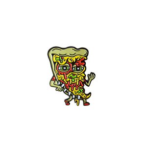 Killer Acid - Pizza Friend Lapel Pin
