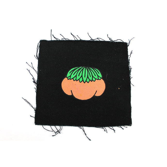 'Little Peach' hand painted Patch