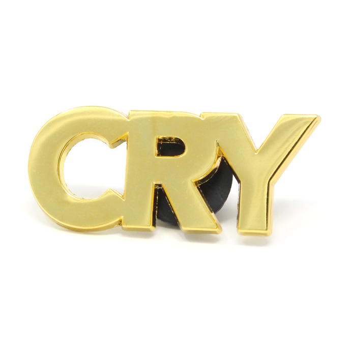 Ball and Chain Co. Cry Lapel Pin