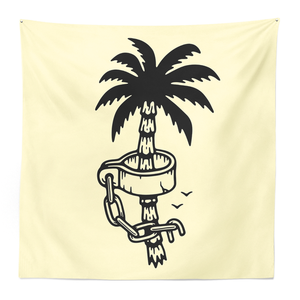 Ball and Chain Co. Palm Tapestry