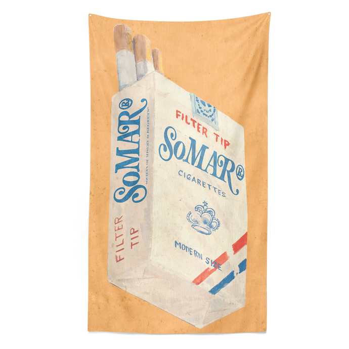 Ball and Chain Co. Somar Cigarette Pack Tapestry