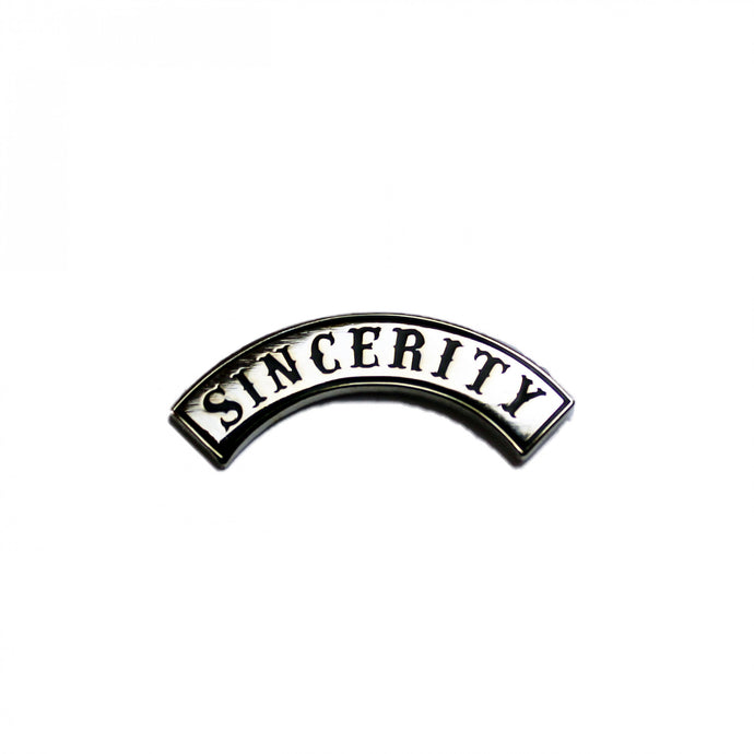 PMA Gang - Sincerity Lapel Pin