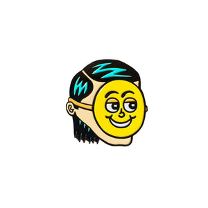 Killer Acid - Put on a happy face Lapel Pin