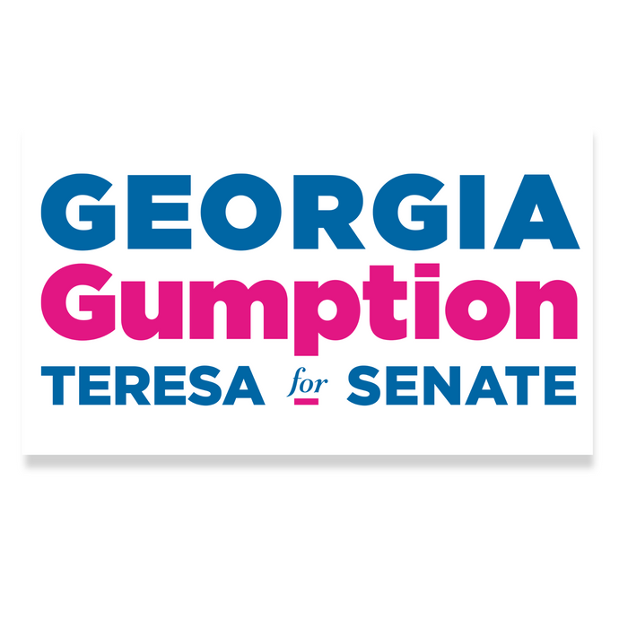 Georgia Gumption Bumper Sticker