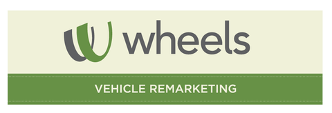 Wheels Vehicle Remarketing Decal