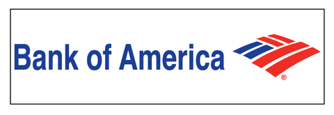 Bank of America Decal