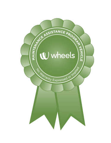 Wheels Ribbon Decal