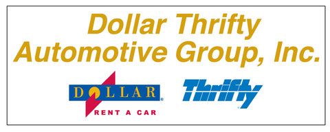 Dollar Thrifty Automotive Group Decal