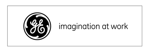 "GE ""Imagination At Work"" Decal"