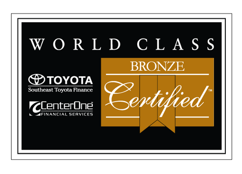 CenterOne Bronze Certified Decal