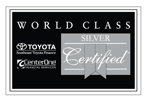 CenterOne Silver Certified Decal