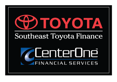 CenterOne Toyota Decal