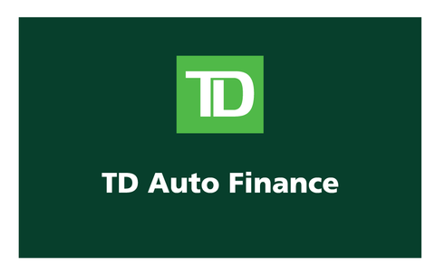 TD Auto Finance Decal