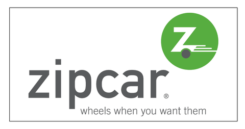 Zipcar Decal
