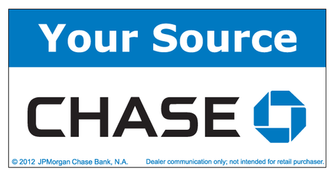 Your Source Chase Decal
