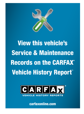 CARFAX for GE Decal