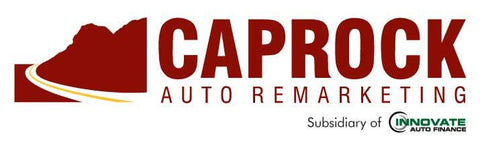 Caprock Auto Remarketing Decal