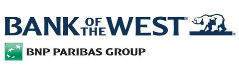 Bank of the West Decal