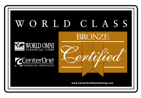 World Omni Bronze Certified Topper