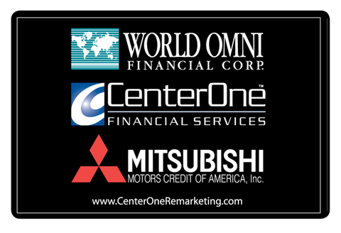 World Omni Mitsubishi Car Flag