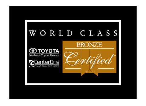 CenterOne Bronze Certified Car Flag