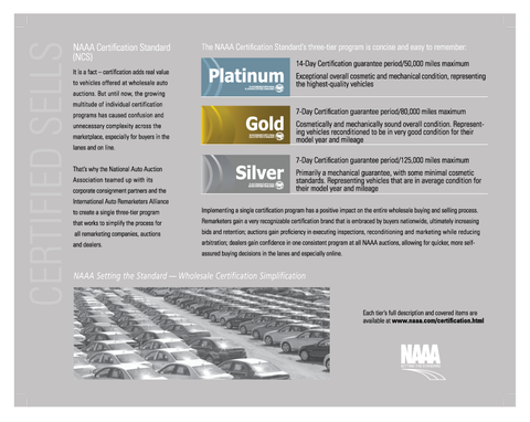NAAA Certification Brochure