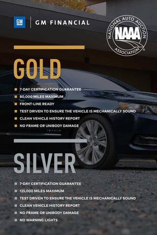 GM Financial NAAA Gold/Silver Poster