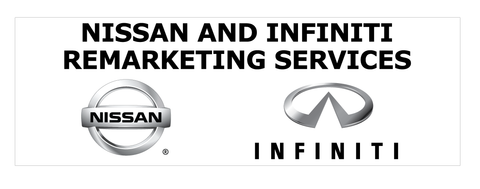 Nissan and Infiniti Remarketing Services Banner