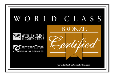 World Omni Bronze Certified Banner