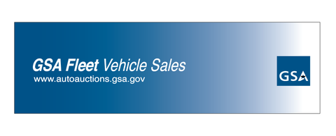 GSA Fleet Vehicle Sales Banner