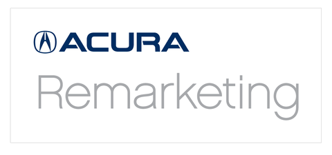 Acura Remarketing Banner