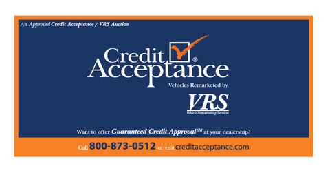 VRS Credit Acceptance Banner (Small)