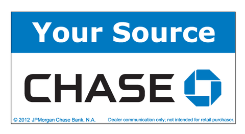 Your Source Chase Banner