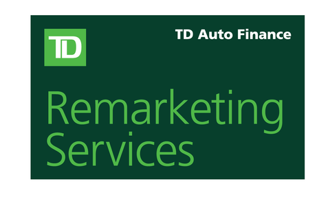 TD Auto Finance Remarketing Services Banner