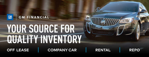 GM Financial Quality Inventory Banner