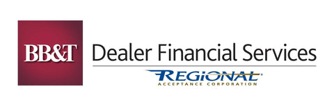 BB&T/Regional Dealer Financial Services Decal