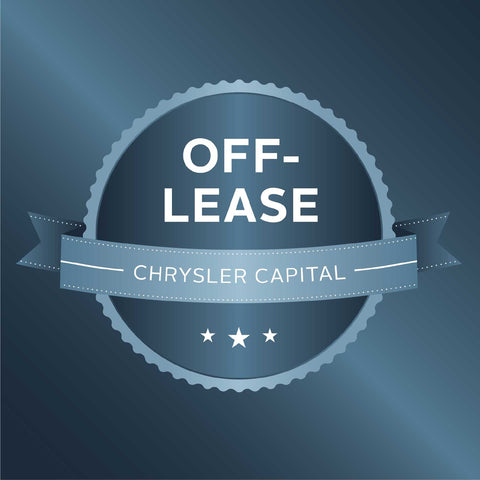 Chrysler Capital Off-Lease Decal