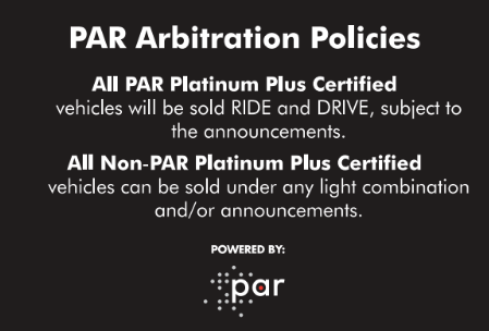 Par Policy Sign