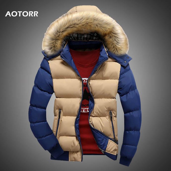 Latest 2020 Solid Thick Hooded Winter Jacket For Men - we the online store- The best Shoes & Clothing Store