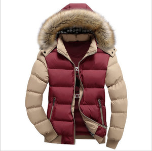 Latest 2020 Solid Thick Hooded Winter Jacket For Men - we the online store