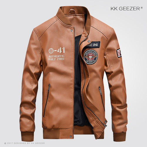 Latest 2020 Top Quality Leather Jacket for Men - we the online store